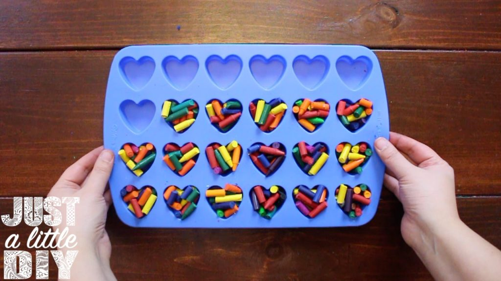 Crayon Heart Mold