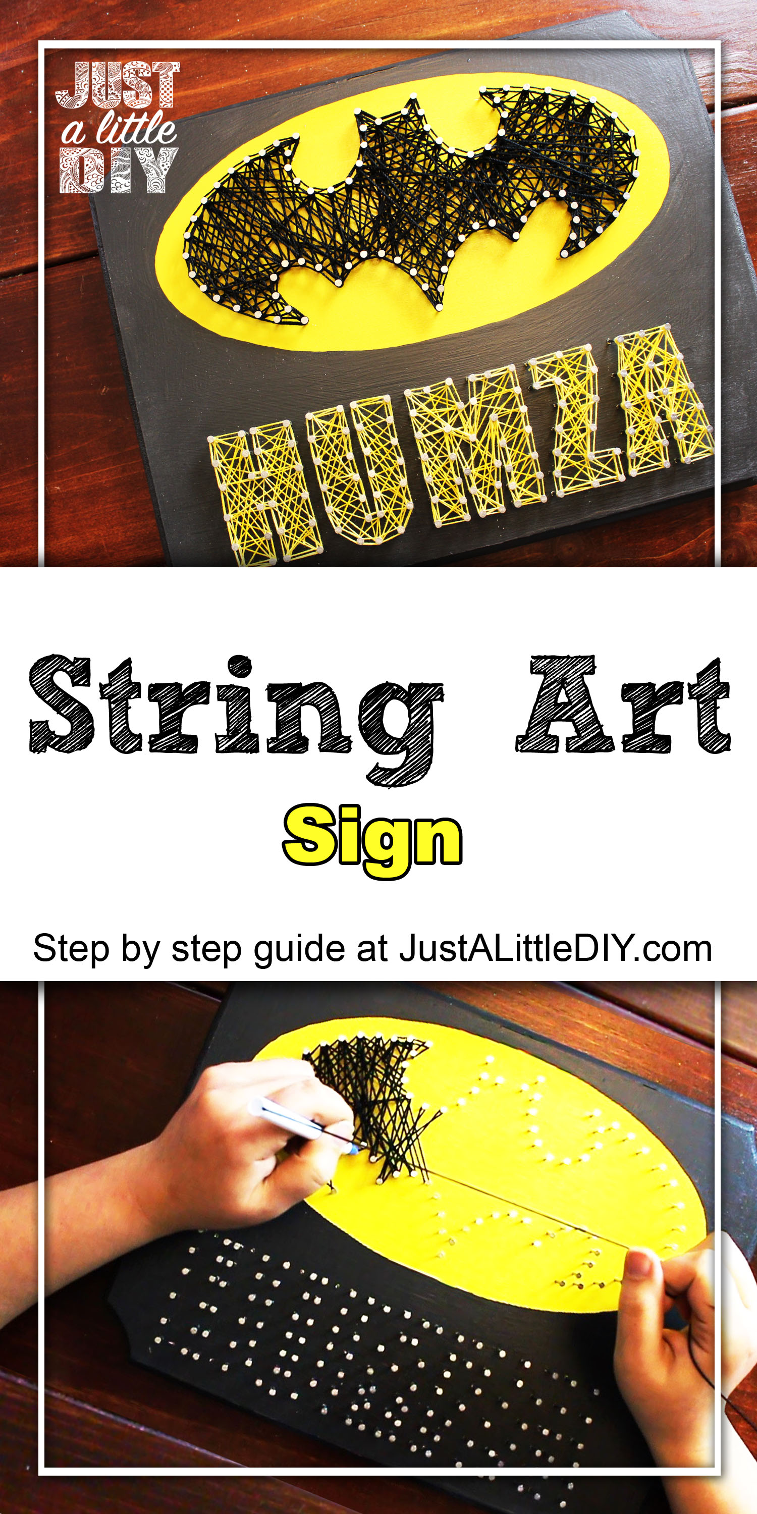 String Art Sign