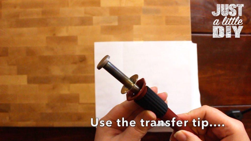 Transfer Tip