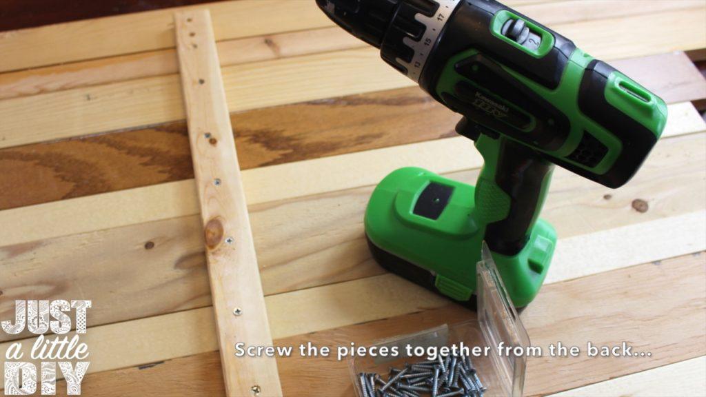Wooden Heart Decor Drill