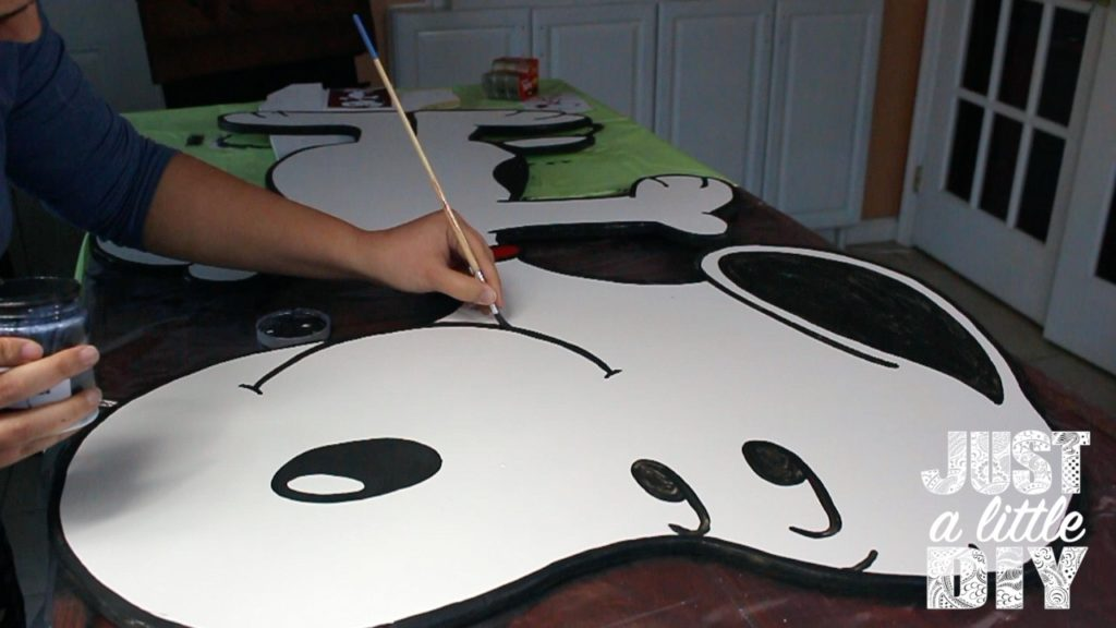 snoopy paint