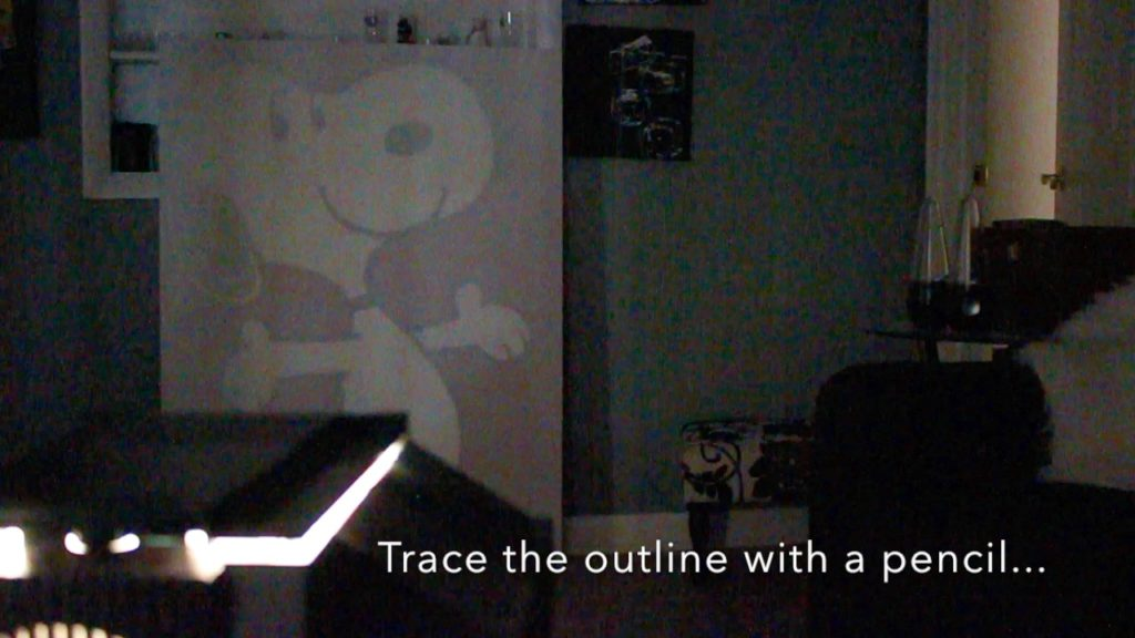 snoopy projector